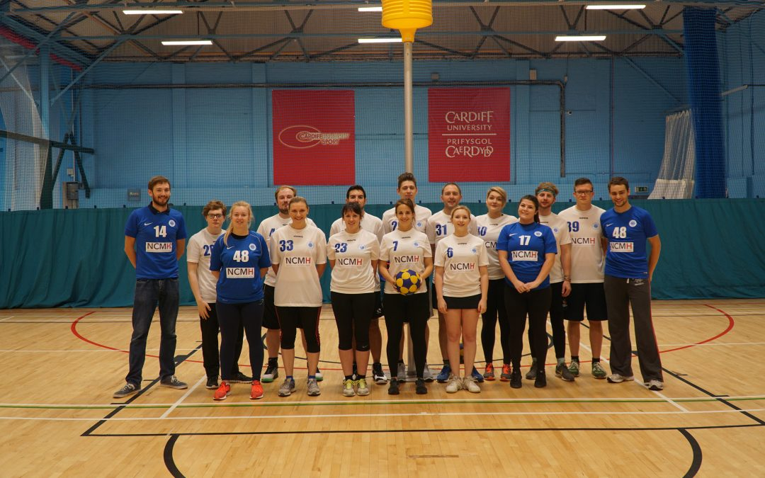 Cardiff City & Met #teamNCMH